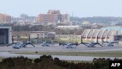 Авиабаза морской пехоты США Футэмма на острове Окинава