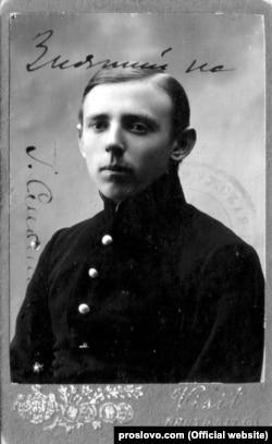 Гімназист Юрій Смолич, майбутній письменник. Жмеринка, 1918 рік