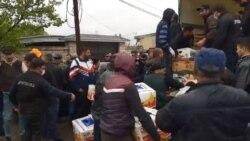 Վրաստանի Մառնեուլի շրջանի գյուղացիները բողոքում են կարանտինի դեմ