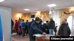 Сайлов жараёни ҳақида Озодликка юборилган суратлар