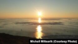 Полярный день на Ледовитом океане, Чукотка