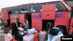 نازحون عراقيون عائدون من سوريا