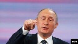Владимир Путин на ежегодной пресс-конференции 17 декабря