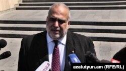 «Ժառանգություն» կուսակցության հիմնադիր Րաֆֆի Հովհաննիսյան: