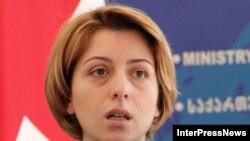 Новый государственный министр по реинтеграции Эка Ткешелашвили
