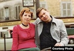 Вадим Делоне с женой Ириной Белогородской.