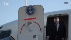 US Secretary Of State Mike Pompeo Arrives In Israel
