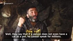 "Caveman: ""I had wandered around the world, and, finally, found my home."""