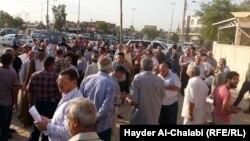 تجمع لناشطين في بابل