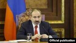 Премьер-министр Армении Никол Пашинян