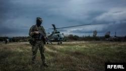 Отвод войск вблизи Станицы Луганской. 10 октября 2016 года
