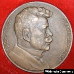 Медаль с изображением Яна Янского вручается почетным донорам Чехии