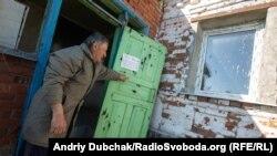 Прифронтовое село Гранитное, 20 апреля 2019 года