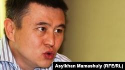 Гражданский активист Мухтар Тайжан.