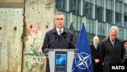 Cartierul general al NATO, 6 noiembrie 2019.