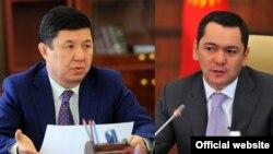 Темир Сариев менен Өмүрбек Бабанов