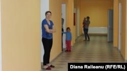 În secţia pediatrie a spitalului din Criuleni