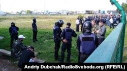 Правоохоронці чергують на українсько-польському кордоні, 10 вересня 2017 року