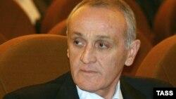 Georgia -- President of de facto Abkhazia Alexander Ankvab, Sukhumi, 19Oct2011