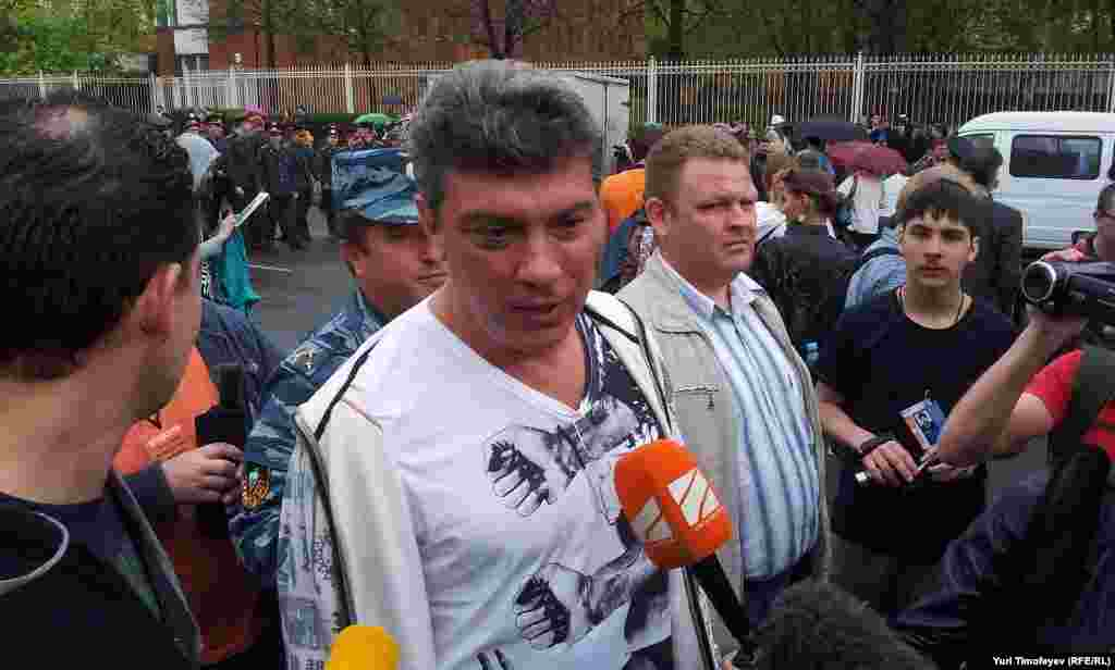 "Борис Немцов на ""Марше миллионов"""