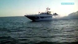 Как украинские пограничники патрулируют Азовское море (видео)