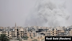 Город Ракка, иллюстрационное фото
