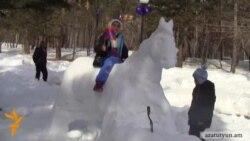 Ձյունե «թագավորություն»՝ արեւոտ Ջերմուկում