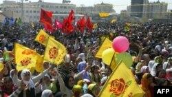 جشن نوروزی کردهای ترکیه به خشونت انجامید(عکس:AFP)