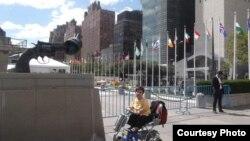 Hiljmnijeta Apuk ispred UN-a