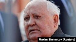 Михаил Горбачев, СССР-дің бұрынғы басшысы.
