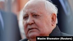 СССР-дің бұрынғы президенті Михаил Горбачев. Мәскеу, 9 мамыр 2018 жыл