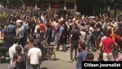 تصویری از اعتراضهای مرداد ماه در اصفهان