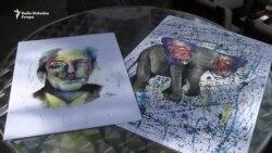 Izložba 'Malog Pikasa': Farhadove vesele boje