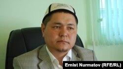 Ош облысы мүфтиятының төрағасы Ниязәлі Арипов.