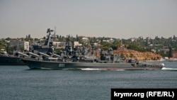 Кораблі Чорноморського флоту Росії в Севастополі. Архівне фото