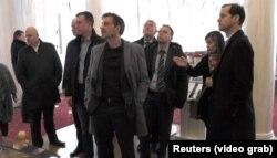 Члены делегации немецкой правой партии «Альтернатива для Германии» посетили Ливадийский дворец в Ялте. 4 февраля 2018 года