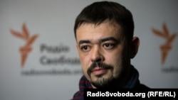 Кирило Недря, оборонець Донецького аеропорту в студії Української редакції Радіо Свобода, лютий 2017 року