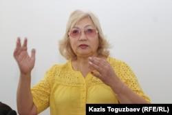 Розлана Таукина, президент Федерации равноправных журналистов Казахстана.