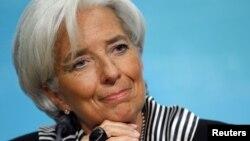 Халықаралық валюта қорының басшысы Кристин Лагард. Вашингтон, 17 қаңтар 2013 жыл.