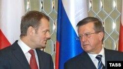 Туск перед началом переговоров с коллегой Зубковым