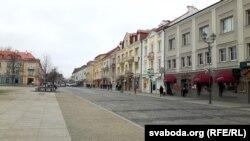 На вуліцах Беластока