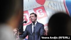 Aleksandar Vučić na komemoraciji u Busijama