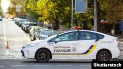 Ілюстрацыйнае фота. Украінская патрульная паліцыя