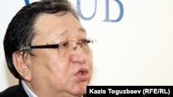 Оппозиционный политик Серик Сапаргали. Алматы, 13 января 2012 года.