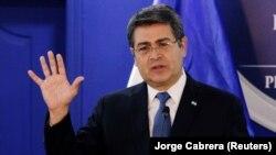 خوان اورلاندو هرناندز، رئیس جمهوری هندوراس