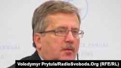 Броніслав Коморовський, президент Польщі