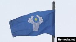 Флаг Содружества Независимых Государств (СНГ).