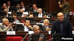 Ermənistan parlamenti, 31 may 2012