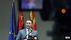 Никола Ґруєвський, лідер єдиної партії-учасника виборів, архівне фото
