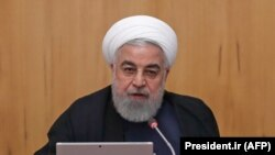 IranianPresident Hassan Rouhani chairs a cabinet meeting in the capital Tehran on September 18, 2019